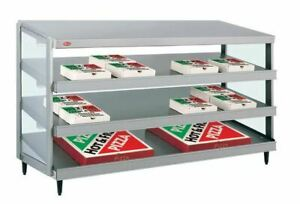 Hatco Grpws 4824t Glo ray 48 Triple Shelf Pizza Warmer 120 208v 3585w