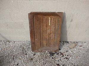 1932 1931 Chevrolet Landau Phaeton Floor Pan Solid Original