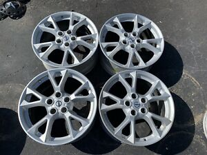 Set Of 4 Used 18 18 X 8 Nissan Maxima Factory Oem Wheels Rims 5x4 5