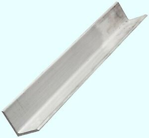 Aluminum Angle 1 4 X 4 X 4 Ft Length Unpolished Alloy 6061 90 Stock