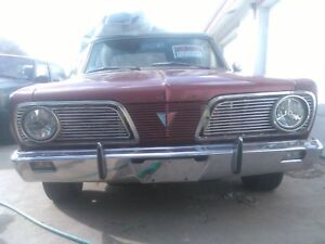 1966 Plymouth Valiant Signet Convertible Candy Apple Red New A C Unit Added On