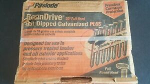 Paslode 650382 Roundrive Hot Dipped Galvanized Plus Framing 2 3 8 X 113