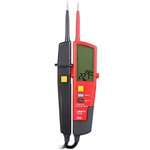 Uni t Ut18d Auto Range Voltage And Continuity Tester With Lcd Backlight