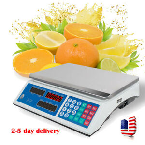 Digital Deli Meat Food Computing Retail Price Scale Fruit Produce Counting us