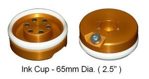 Pad Printing 65mm 2 5 Ink Cup With Ceramic Ring For Pad Printer Magnetic _