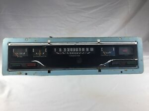 Vintage 1960 s Truck Instrument Panel Dash Gauges Rat Hot Rod Street Rod