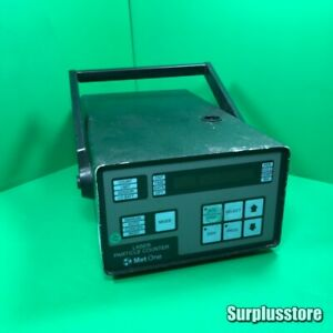 Met One Laser Particle Counter 237h As Photos Sn 208308001