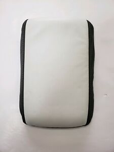 2005 2009 Ford Mustang White Charcoal 2 tone Custom Console Lid Assembly