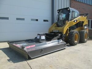 Bradco Gss60 Bush Cutter Mower Skid Steer Loader Attachment 15 25 Gpm Free Ship