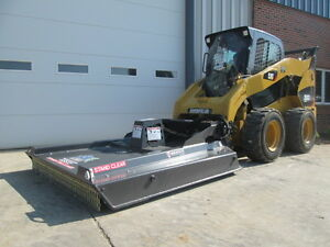 Paladin Bradco Gss72 Bush Cutter Mower Skid Loader Attachment New Free Shipping