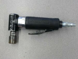 Snap On Pt110a Mini Pneumatic Right Angle Mini Die Grinder 25 000 Rpm 1 4