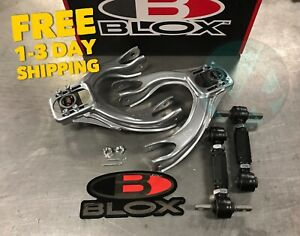 Blox Tuner Front Rev Rear Camber Kit Combo 92 95 Civic 94 01 Integra Eg Dc2