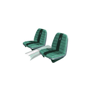 Seat Covers Front Buckets Only Ford Galaxie Xl Light Aqua 159 With Dark