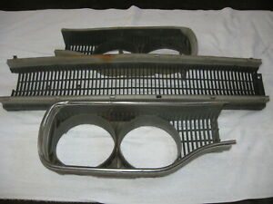 1970 Plymouth Satellite Road Runner Grill And Headlight Bezels