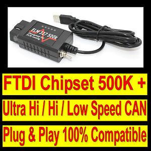 Super Car Obd Diagnostic Scanner Tool Usb Code Reader Interface Cable For Ford