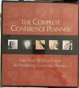 The Complete Conference Planner In 3 ring Binder