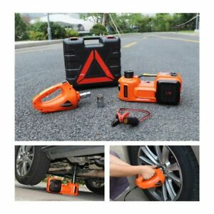 Car Floor Jack Electric Tire Lifting Hydraulic Air Infatable With Impact Wrench