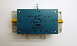 Mini circuits Zsat 31r5 Precision Digital Step Attenuator