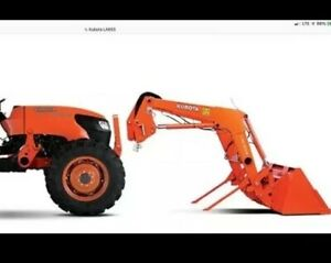 Kubota Loader 2010 Model La853 Quick Connect