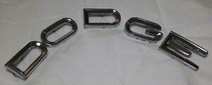1961 1968 Dodge Town Wagon Hood Letter Emblems