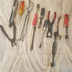 12pc Brake Service Tools Lot Set Mac Craftsman More Retainer Spring Pliers Clips