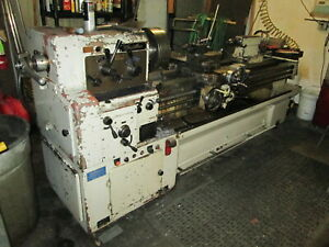 Cadillac 84 Bed Lathe W removable Gap Rohm 12 chuck 4 Way Tool Post Tailstock