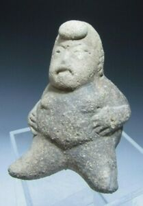 Pre Columbian Mexico Mexican Olmec Pottery Figure Of A Dwarf Ca 1200 800 Bc