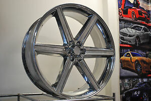 24 Iroc Wheel 24x10 6x139 7 Et 25 Chrome New Wheels