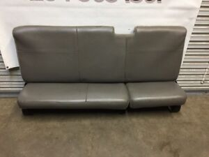 2008 2016 Ford F250 F350 F450 Extended Cab Rear Seat Gray Vinyal