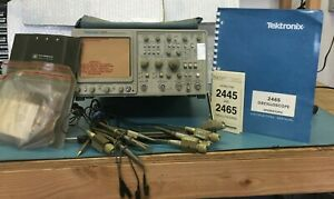 Tektronix 2465 300 Mhz 4 Channel Analog Oscilloscope