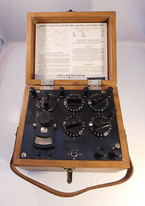 Leeds Northrup Co 5305 Test Set Resistance Measurements Galvanometer