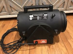 Air Systems Fan Confined Space Fan Axial Explosion Proof 1 3hp 115vac Black