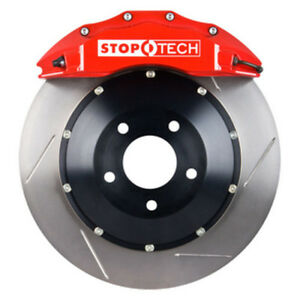 Stoptech 2006 Bmw 330ci Front Bbk W Red St 60 Calipers Slotted 355x32mm Rotors