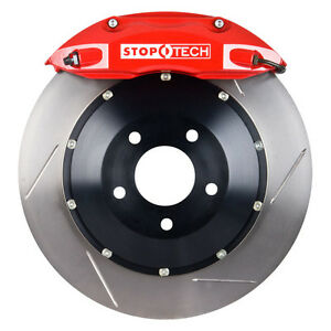 Stoptech 06 13 Lexus Is 250 Rear Bbk W red St 40 Calipers Slotted 345x28mm Rotor