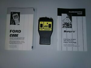 Sunpro Actron Cp9015 Ford Lincoln Mercury 1981 1995 Computer Code Scanner