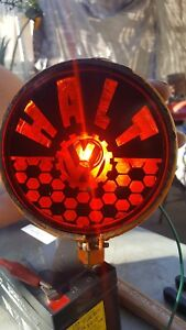 Stop Halt Light 5 Vintage Housing Customized Lens 12v Vw