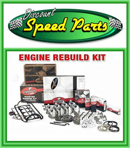 Chevrolet 396 Engine Rebuild Kit 1965 1970 Bbc Pistons Rings Rod Main Bearings