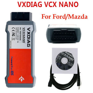 Original Vxdiag Vcx Nano For Ford Mazda 2 In 1 Ids V100 Code Reader Scanner