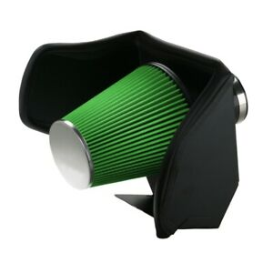 Green Filter 99 05 Chevy Gas Vortech Cold Air Intake Kit Grn2557