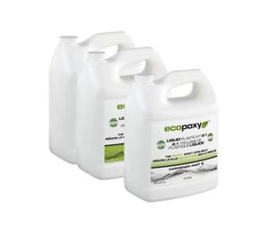 Ecopoxy 2 1 Ratio Liquid Plastic Kit 120 Liter Epoxy River Table Art Craft Wood