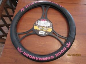 Duck Commander Steering Wheel Cover Black And Pink Brand New Girl Country