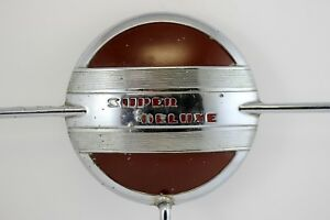 1940 S Ford Super Deluxe Steering Wheel Horn Ring Vintage Automobilia 1941