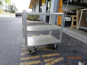 Win holt Stainless Steel Utility Cart 16 x24 x26