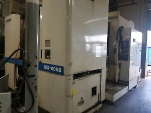 Okuma Mx 60hb Cnc Machine Horizontal Machining Center