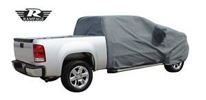 Rampage 1999 2019 Universal Easyfit Truck Cover 4 Layer Grey For Ram1321