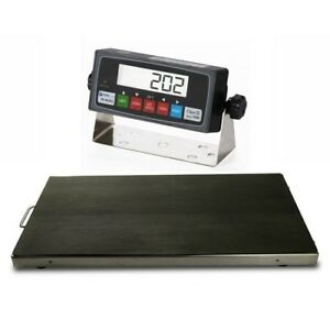 New 700x0 1lb Vet Scale Animal Scale Livestock Scale Stainless Steel Platter
