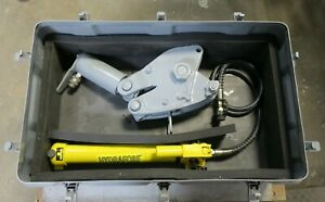Wheeler rex Hydraulic Pipe Cutter New Pump 3890 12 With Case Refurbished