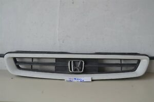 1996 1997 1998 Honda Civic Coupe Hatchback White Front Grill Oem Grille 29 4w1