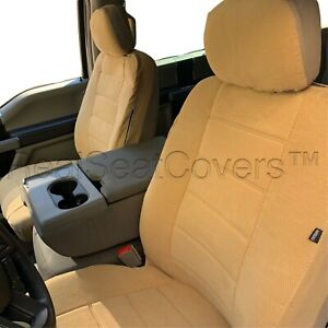 Automotive 4pc Front 2 Low Back Bucket Seat Cover For Ford F series Xlt Xl Base