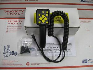 Fisher Handheld Snow Plow Control New 29800 Xtreme V Xls 4 Pin Controller
